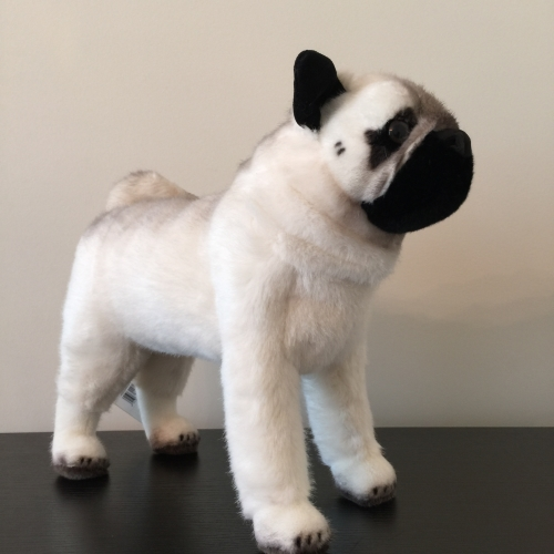 Kosen Plush Pug Dog Handmade in Germany Stuffed Animal